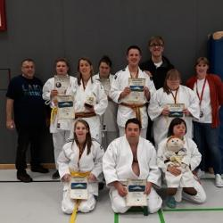 Internationale Deutsche Einzelmeisterschaften ID Judo 2019 in Bocholt