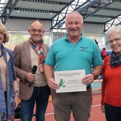 Große Ehre für die Behindertensportabteilung des  Budo Club Mühlheim