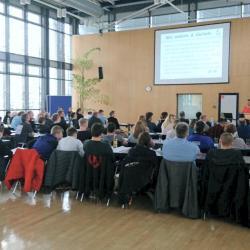 Gruppen- und Landeskampfrichterseminar der Gruppe Süd-West in Frankfurt und Kampfrichterversammlung des HJV