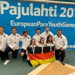 """Para-Sport –  Marburger Leistungszentrum bei den """"European-Para-Youth-Games"""""""